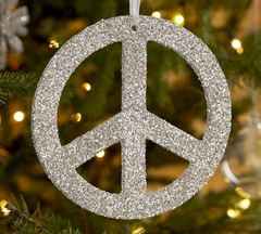 Peace Sign Ornament Tutorial Crap I Ve Made